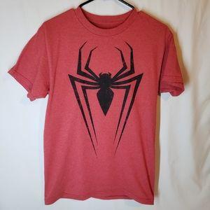 Marvel spiderman authentic tee shirt